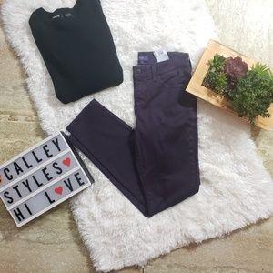 NYDJ Purple Skinny Jeans Alina Leggings Sz 4 A14